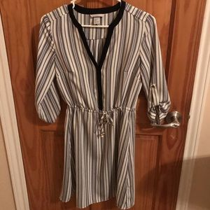 H & M striped dress for women size 4